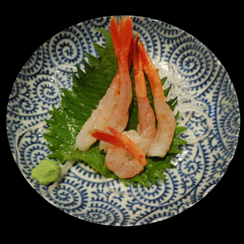 AMA-EBI  (SWEET PRAWN)></img> </br></div><div class='ginput_container ginput_container_singleproduct'> 					<input type='hidden' name='input_92.1' value='甘えびAMA-EBI  (SWEET PRAWN) SASHIMI' class='gform_hidden' /> 					<span class='ginput_product_price_label'>Price:</span> <span class='ginput_product_price' id='input_1_92'>£ 3.80</span> 					<input type='hidden' name='input_92.2' id='ginput_base_price_1_92' class='gform_hidden' value='£ 3.80'/> 					 <span class='ginput_quantity_label'>Quantity:</span> <input type='number' name='input_92.3' value='' id='ginput_quantity_1_92' class='ginput_quantity' size='10' min='0'  /> 				</div></li><li id='field_1_91'  class='gfield gf_middle_third gfield_price gfield_price_1_91 gfield_product_1_91 field_sublabel_below field_description_above gfield_visibility_visible' ><label class='gfield_label' for='input_1_91_1' >いか IKA (SQUID) SASHIMI</label><div class='gfield_description' id='gfield_description_1_91'><img src=