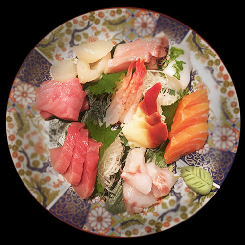 LARGE SASHIMI SET (21pcs)